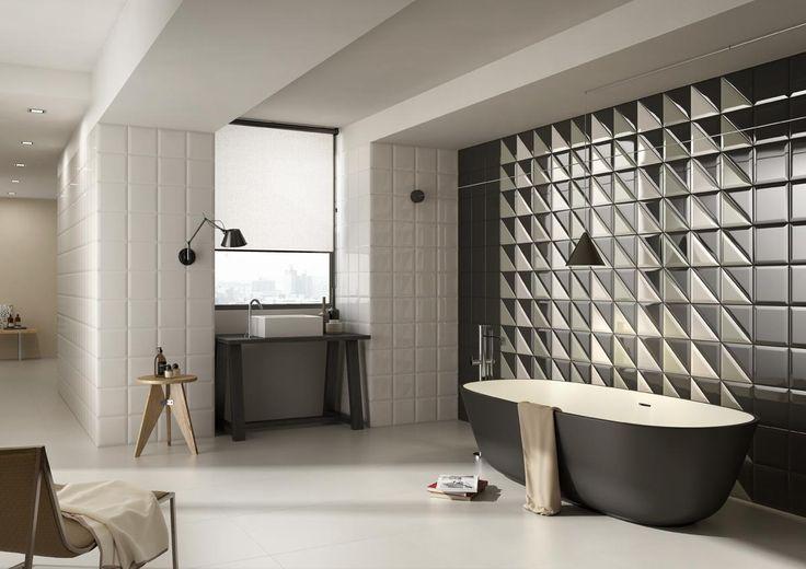 DOUBLE Tiles, bathroom modern ceramic double firing [AM DOUBLE 2]