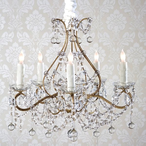 Rachel Ashwell Shabby Chic Couture Simple Chandellier