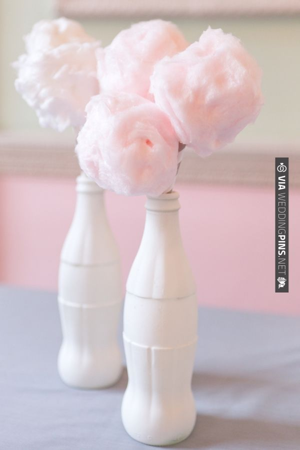 cotton candy ideas for cake tables | CHECK OUT MORE IDEAS AT WEDDINGPINS.NET | #weddingcakes