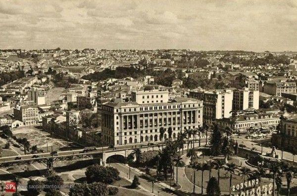 Vista parcial da Cidade de São Paulo em 1915.