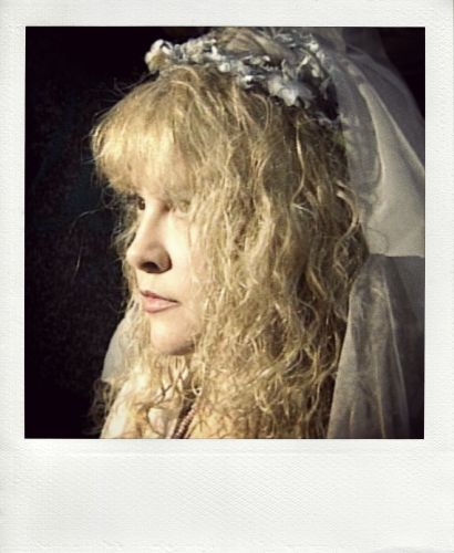 """a close-up photo of Stevie    ~ ☆♥❤♥☆ ~  when she performed as 'The Ghost of Christmas Past' in KTAR's reading of Charles Dickens' """"A Christmas Carol"""" in the Herberger Theatre, in Phoenix, AZ, 1995"""