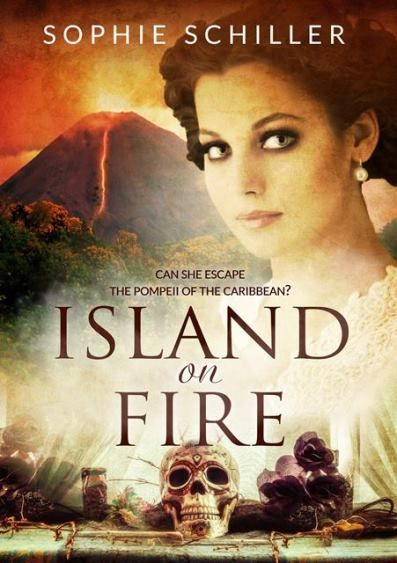 Sophie Schiller On Blog Tour For Island On Fire August 6 15 Past
