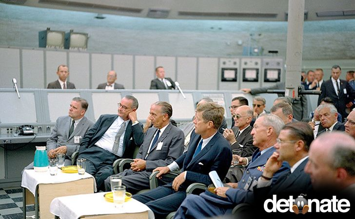 Cuban Missile Crisis Briefing - JFK and LBJ during the Cuban Missle Crisis (1962) – The crisis brought the US within an eyelash of World War III