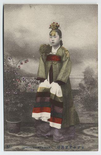 A Corean court singer