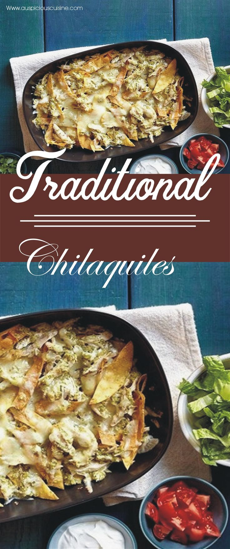 Chilaquiles is a traditional kind of dish which is perfect for growing children as it is enriched with fats and proteins the best to get energy. The spicy flavor of different peppers along with soothing cheese flavor makes this dish an all- time favorite food for children.