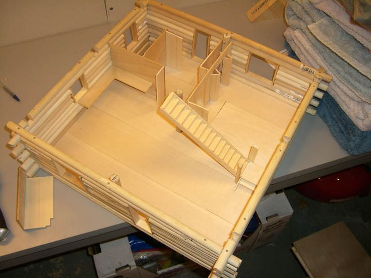 Part of your final project is to construct a scale model.  I would like you to work together on it if possible. One way would be to have the model divided by floors but how you work out...