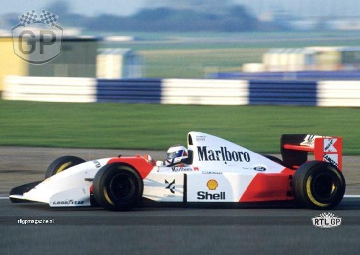 Jos Verstappen 1993 test for McLaren.