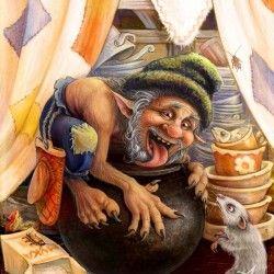 Жировик. Иллюстрация Владимира Аржевитина