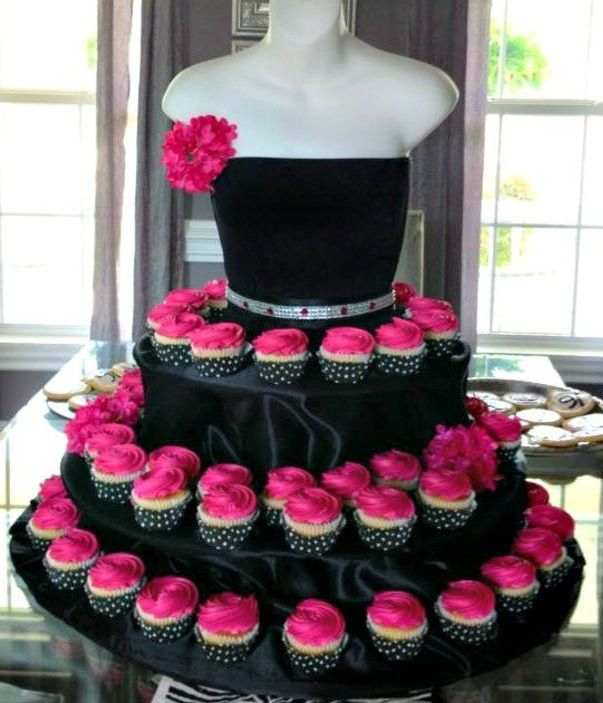 Cute or Sexy depending on how you do it  cupcake display