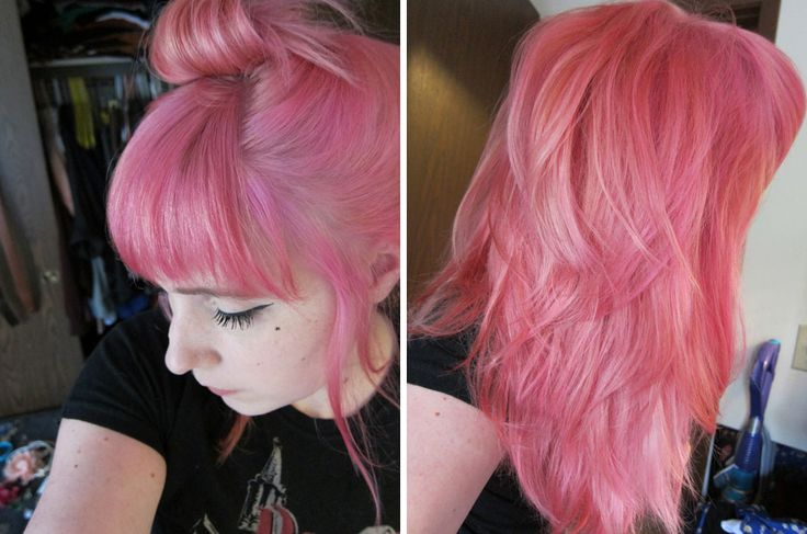 Manic Panic, Cotton Candy Pink. - this is the one i bought and from this picture alone, i love it :D