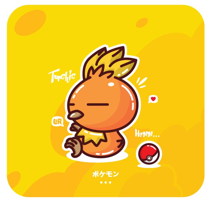 Pokemon Torchic..