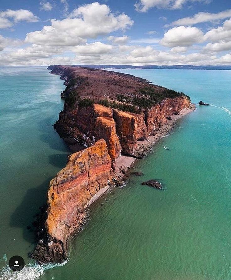 From Drdrone Amazing Shot Of Cape Split Ns Taken By