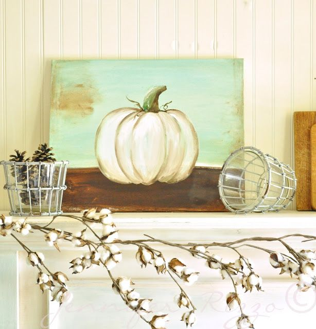 You can paint a pumpkin canvas, art skills not required!!! Step by step instructions!!!.... - Jennifer Rizzo