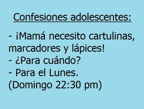 Confesiones Adolescentes