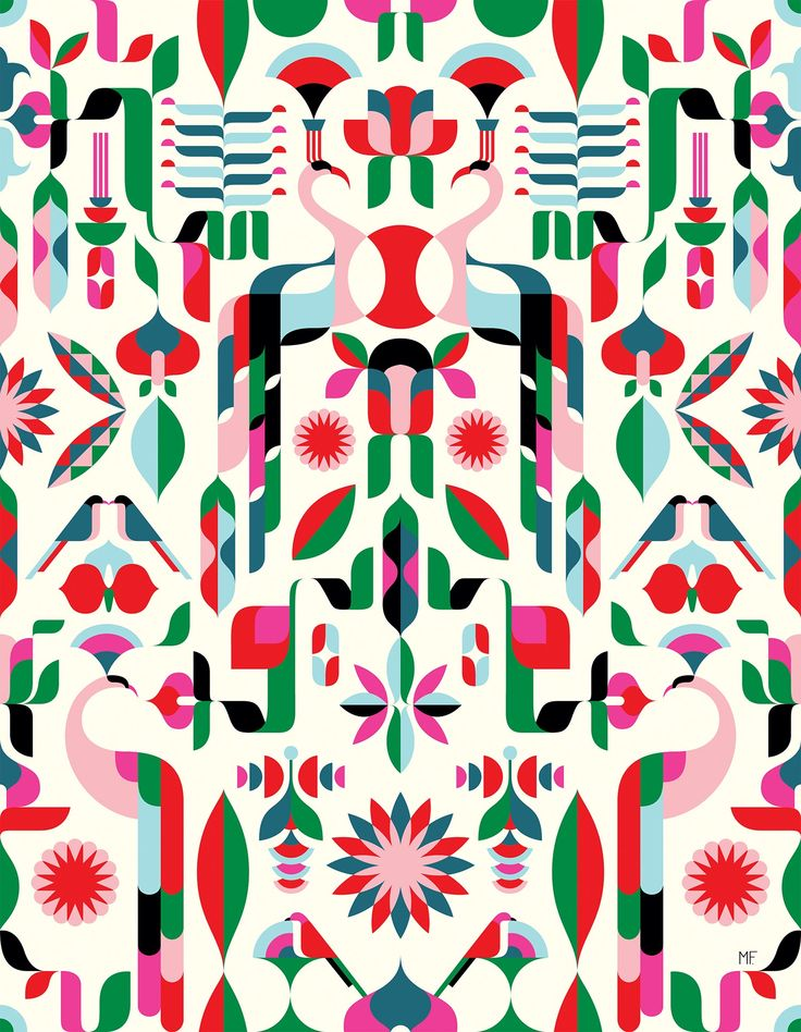 Malika Favre design bold patterns for Heal's first modern fabric line.