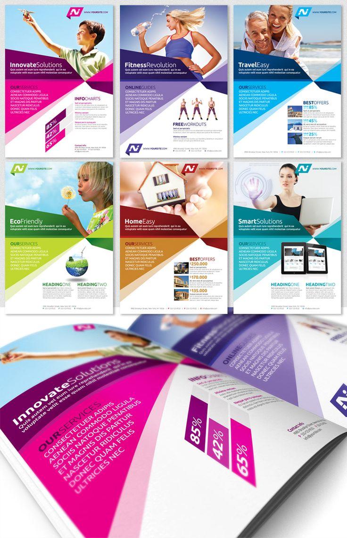 Multipurpose Business Flyer template, Magazine Ad