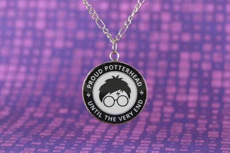 Proud Potterhead - Until the very end by | Recin necklace | Harry Potter