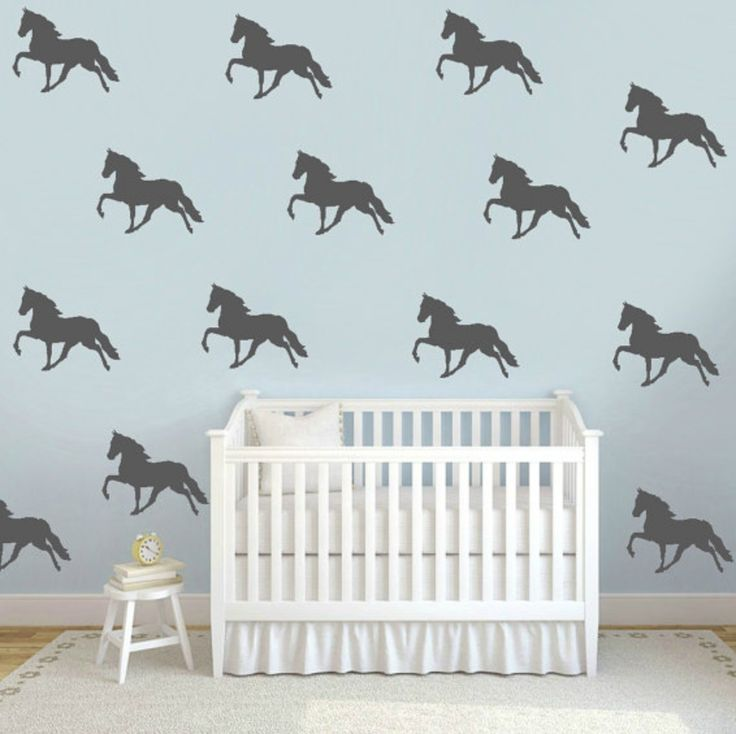 Saddlebred vinyl wall decals