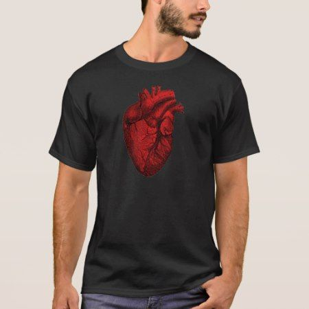 Anatomical Human Heart T-Shirt - tap to personalize and get yours