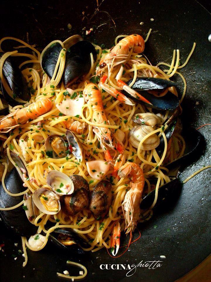 Spaghetti allo scoglio #cucinaghiotta
