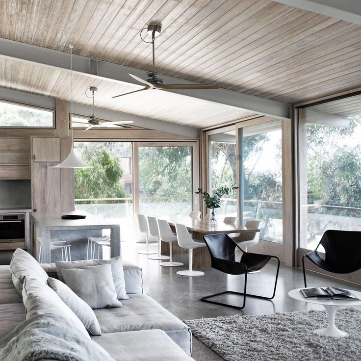 Interior Spaces   Ocean House. Contemporary Beach ...