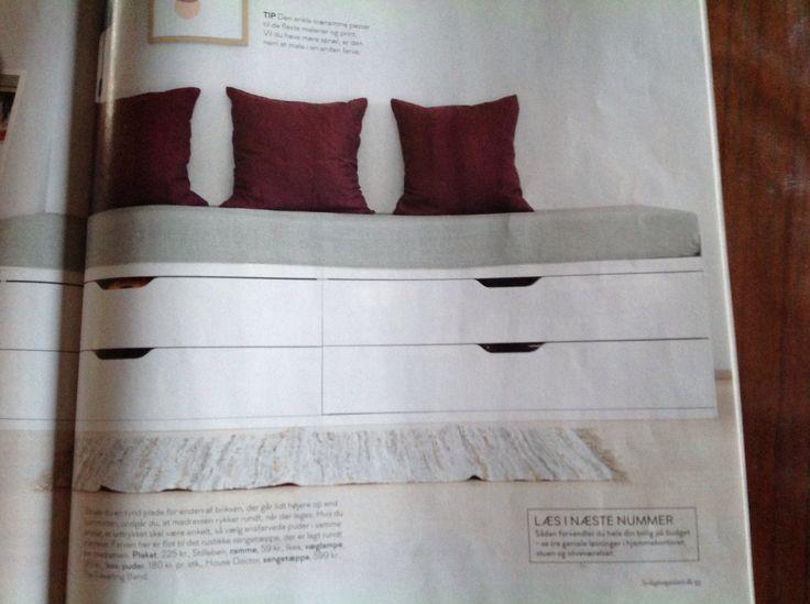 Ikea Bedroom Leirvik Hemnes Is Creative Inspiration For Us: Seng Af Stolmen Kommoder Fra Ikea