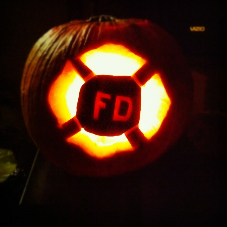 fire department pumpkin fire wife pinterest fire
