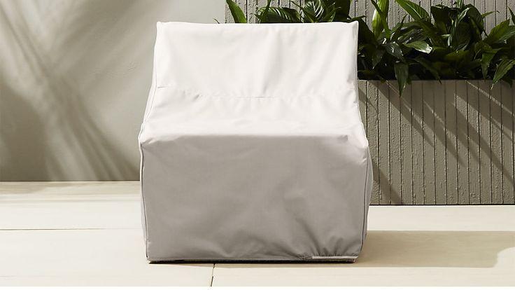 ebb armless chair cover | CB2