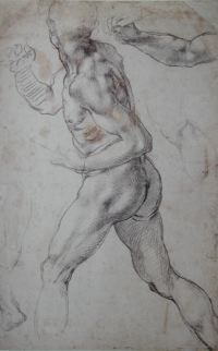 Michelangelo figure drawing