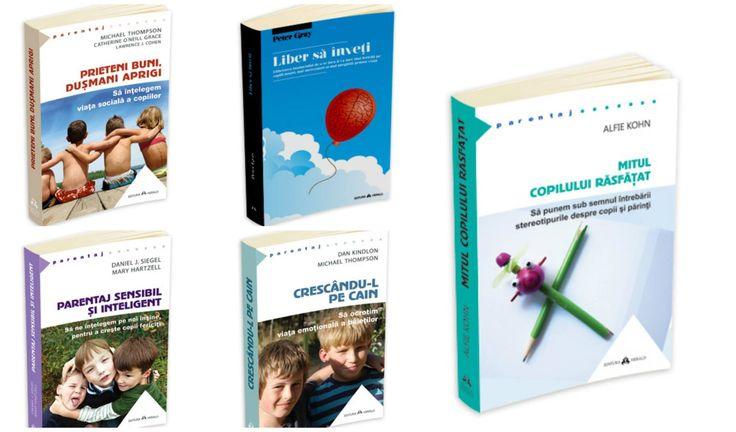 Kiddy Shop: Cărți noi de creștere a copiilor: Alfie Kohn, Peter Gray, Michael Thompson, Daniel Siegel