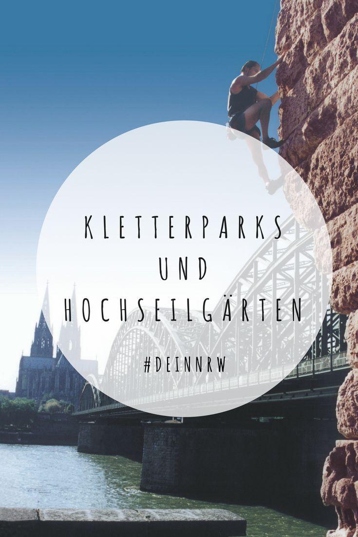 An der Hohenzollernbrücke mitten in Köln, im ehemaligen Hüttenwerk in Duisburg oder in einer Pfarrkirche in Mönchengladbach – in NRW gibt es außergewöhnliche Orte zum Klettern, die Hobbykraxlern und Profikletterern gleichermaßen Spaß bringen. © Reinhold Nomigkeit / Kölner Alpenverein