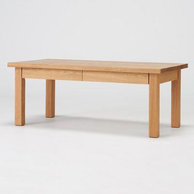 無垢材ローテーブル・オーク材・90×45cm 幅90×奥行45×高さ35cm | 無印良品ネットストア
