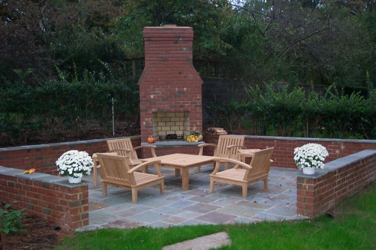 Brick DIY Outdoor Fireplace Kits : Build Own DIY Outdoor ...
