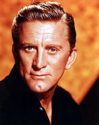 Kirk Douglas always the tough guy and great actor