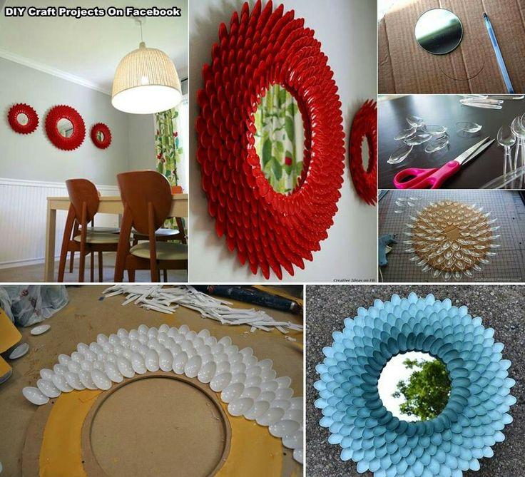 Manualidades para el hogar ideas brillantes pinterest for Objetos decorativos para el hogar