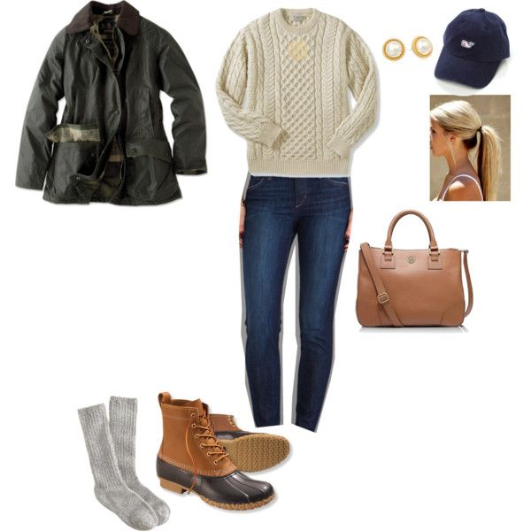 the classic bean boot outfit