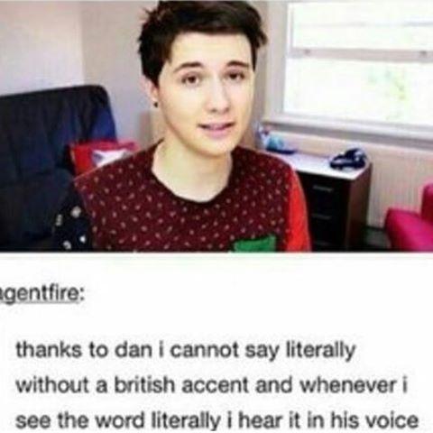 I can still say it like..American i guess but when i see it i hear Dan lol