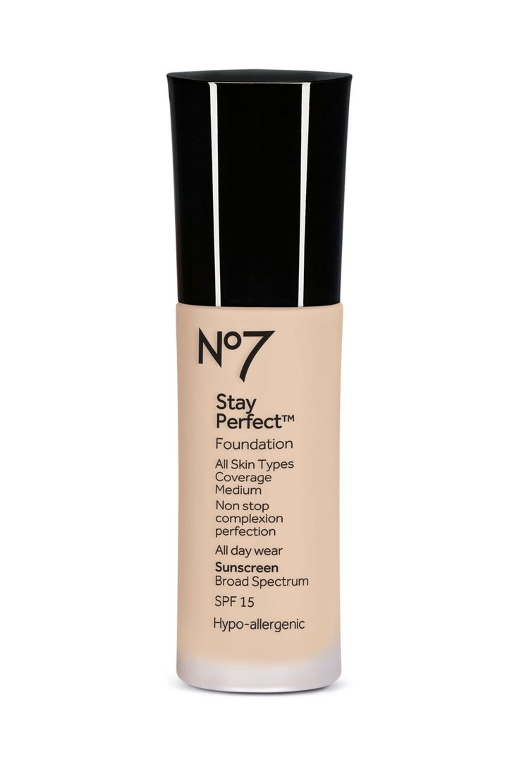 No. 7 Stay Perfect Foundation  - ELLE.com
