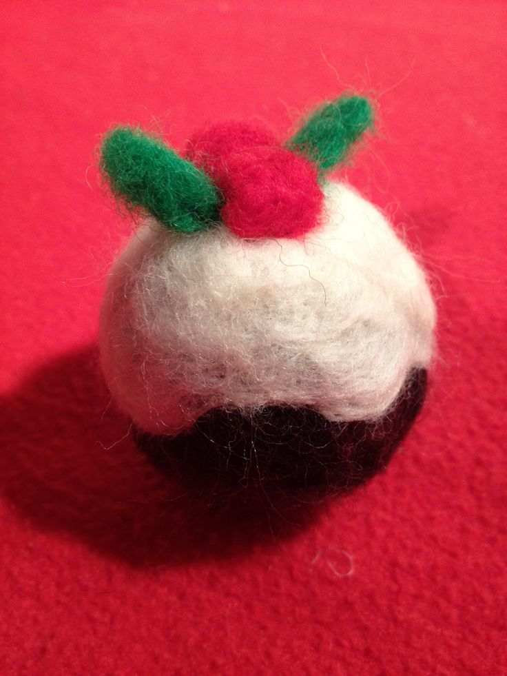 A little Xmas pud made by me!