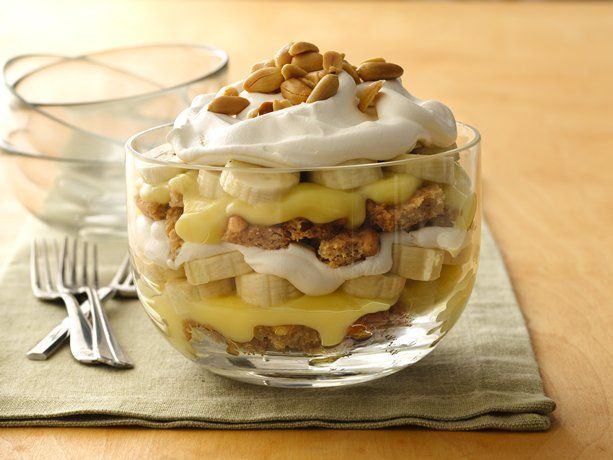 Banana cream pie in a bowl...what?!