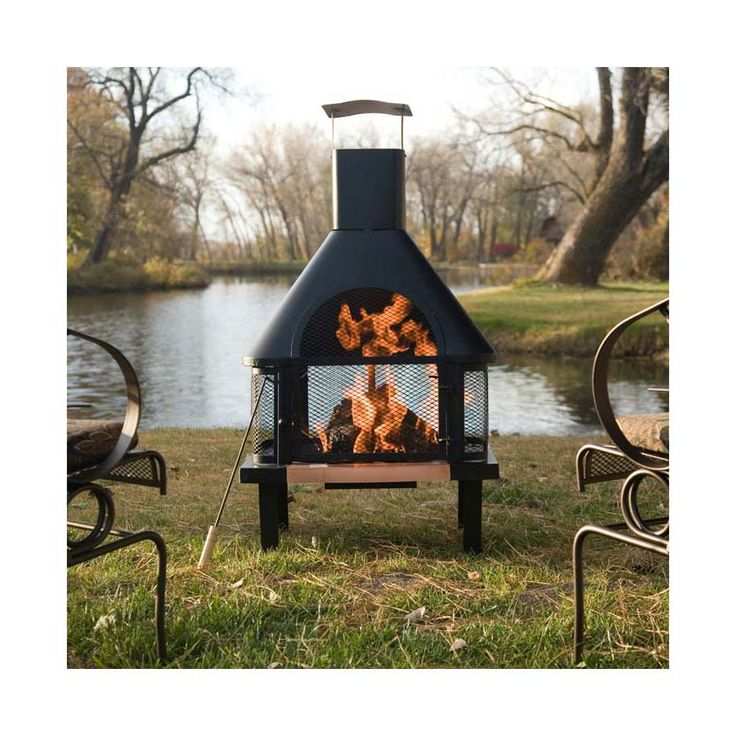 Best 25+ Metal Chiminea Ideas On Pinterest