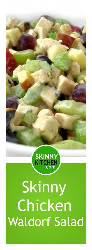 Waldorf Chicken Salad on Pinterest | Waldorf salad, Summer salads ...
