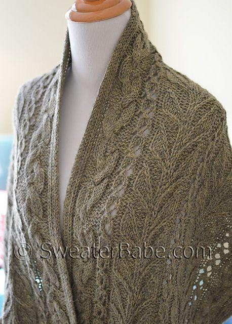 Ravelry: #196 Garden Stroll Stole pattern by SweaterBabe