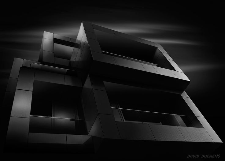 Cubes (b&w version) by David Duchens on 500px