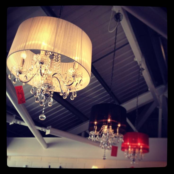 Crystal Drop Chandelier With Shade