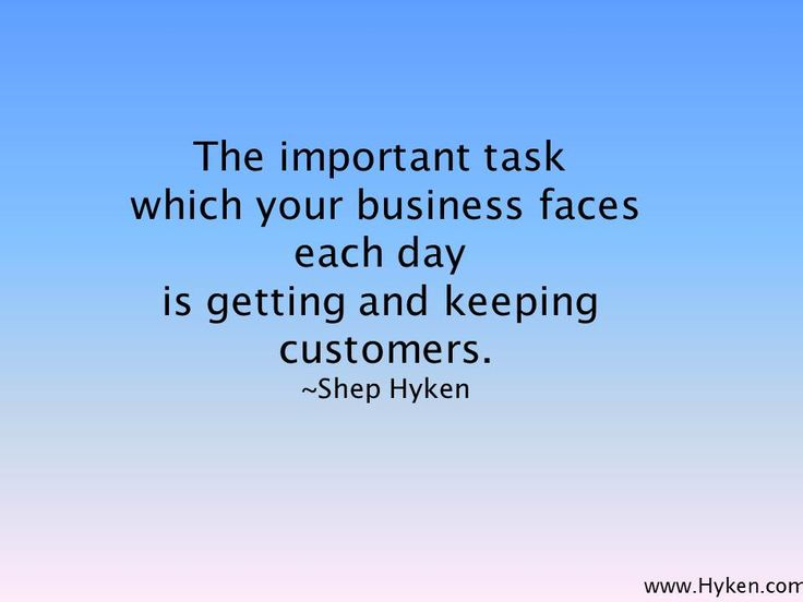 the importance of customer care in business Customer success is a business strategy where companies realize business objectives by ensuring that their customers get the promised business benefits in the traditional business model, the responsibility of the marketers ended with closing a deal.
