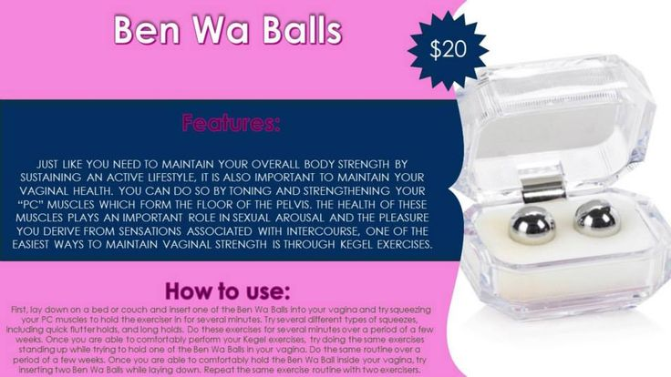 how to put in ben wa balls