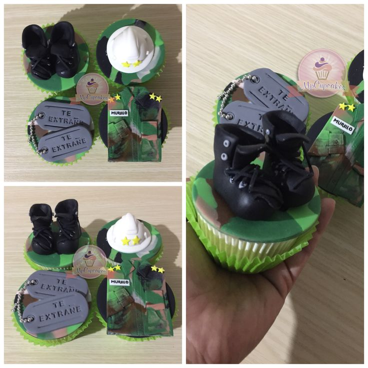 Cupcakes militar