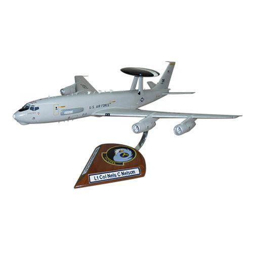 552 OSS E-3 Sentry Custom Aircraft Model