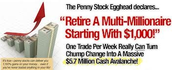 Penny Stock Egghead | 100% Commissions | No Opt-in Version Available!    Please visit: http://www.onlinewealthmakingtips.com/    Wondering How The Hell We Got To #1 So Quickly? $97 Product & You Get 100% On Every Single Sale: www.pennystockegghead.com/jv.html